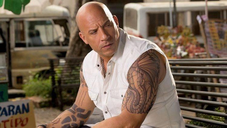 Vin Diesel que aparte de protagonizar la película también la produce