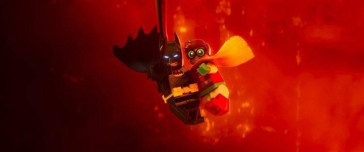 Batman y el joven Robin luchando contra el mal