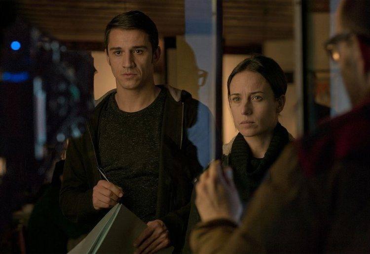 Marta Etura y Juan Carlos Librado 'Nene', inspectora y su ayudante en la película