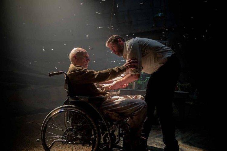 Hugh Jackman y Patrick Stewart, dos superhéroes en horas bajas