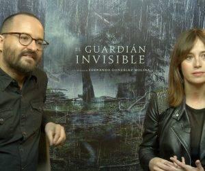 Entrevista a Marta Etura y Fernando González Molina por el estreno de la película 'El guardián invisible'