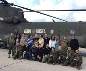 Todo el equipo que ha participado en la película Zona hostil