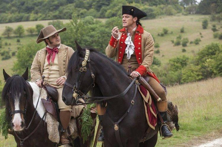 Josh Gad y Luke Evans como Le Fou y Gastón