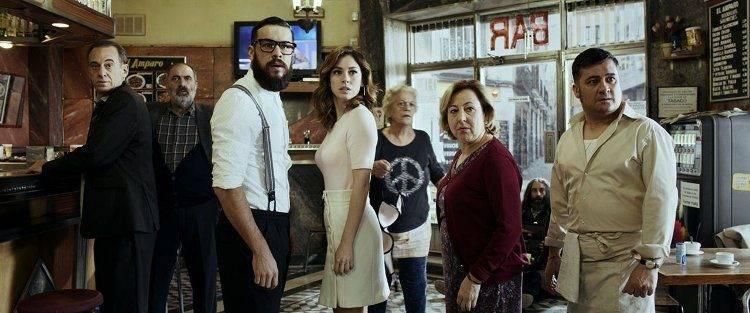 """Foto de la película """"El bar"""" de Alex de la Iglesia - Crítica"""
