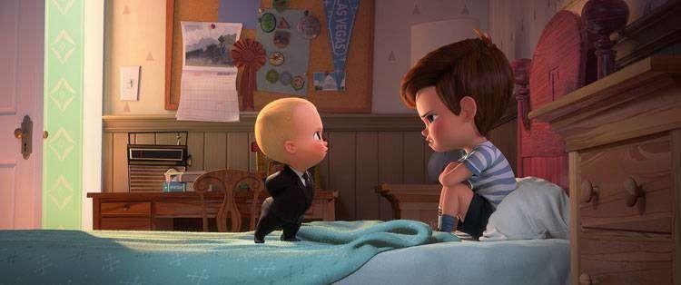 Tim y su hermano, el Bebé Jefazo