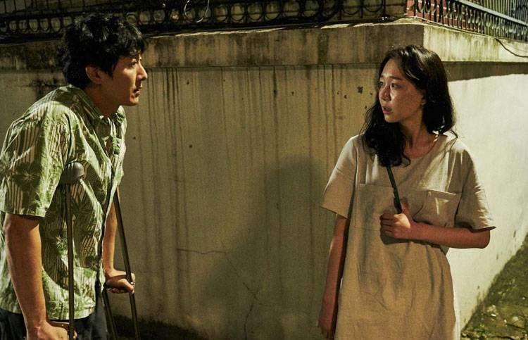 Kim Ju-Hyeok y Lee Yoo-Young en la película Lo tuyo y tú