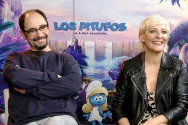 Eva Hache y Jordi Sánchez durante la entrevista con Los Interrogantes