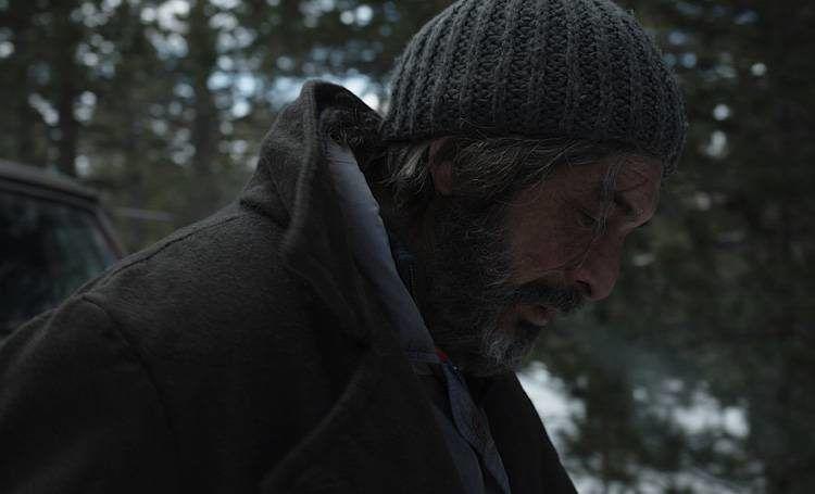 Ricardo Darín perdido entre tanta nieve
