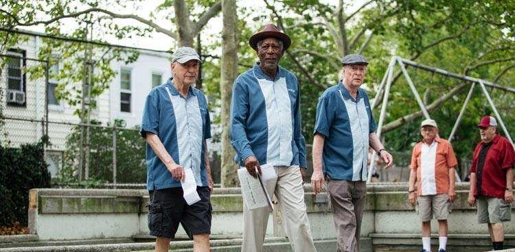 Alan Arkin, Michael Caine y Morgan Freeman no se quedarán de brazos cruzados