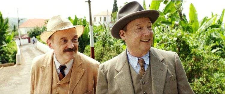 Josef Hader y Matthias Brandt en una escena de la película