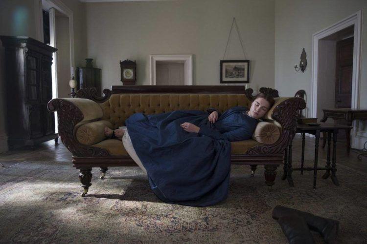 Foto de la actriz Florence Pugh en Lady Macbeth