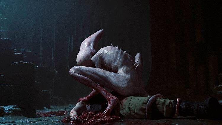 Una de las aberraciones alien de la película covenant