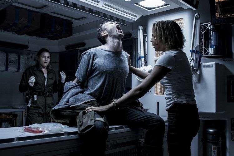 Una de las escenas más espectaculares de Alien Covenant