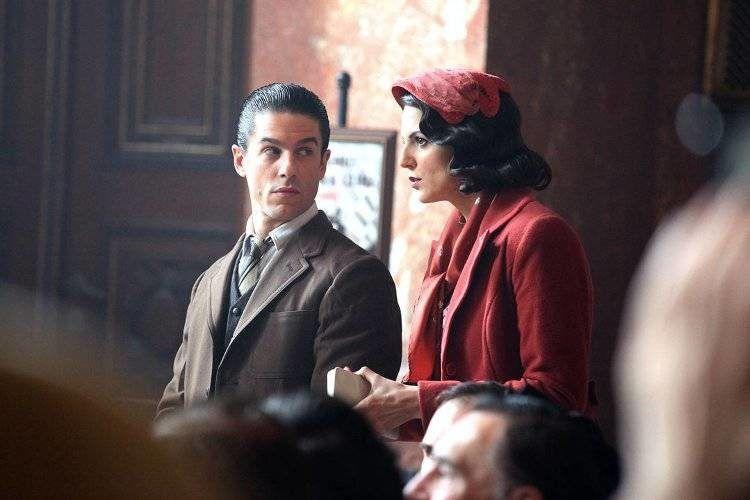 Marc Clotet y Alejo Sauras en una escena de la película