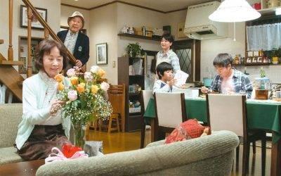 Isao Hashizume, Kazuko Yoshiyuki, Satoshi Tsumabuki y Yû Aoi en Maravillosa familia de Tokio