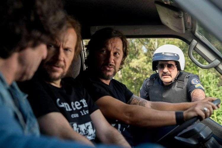 Diego Peretti, Santiago Segura y Diego Torres son el trío protagonista de la historia