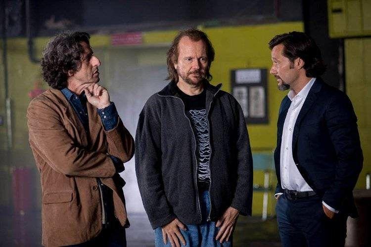 Diego Peretti, Santiago Segura y Diego Torres en una escena de la película