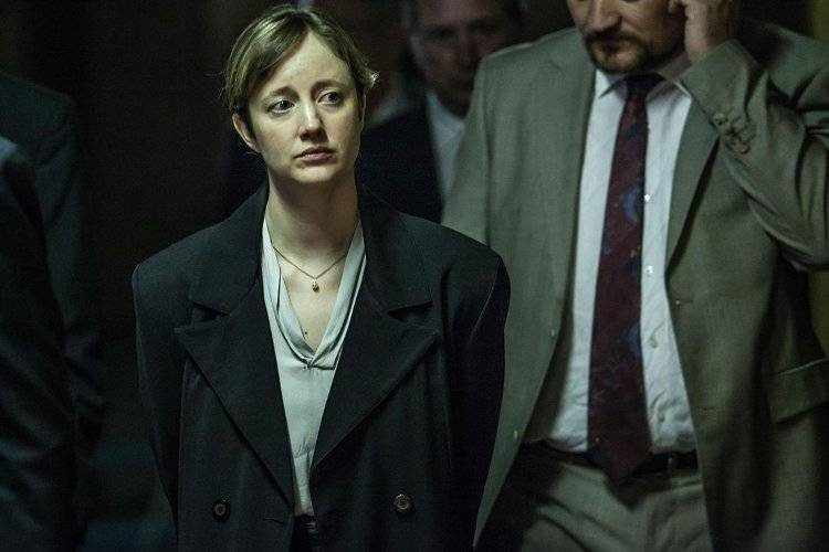 Andrea Riseborough en 'Guardián y verdugo'