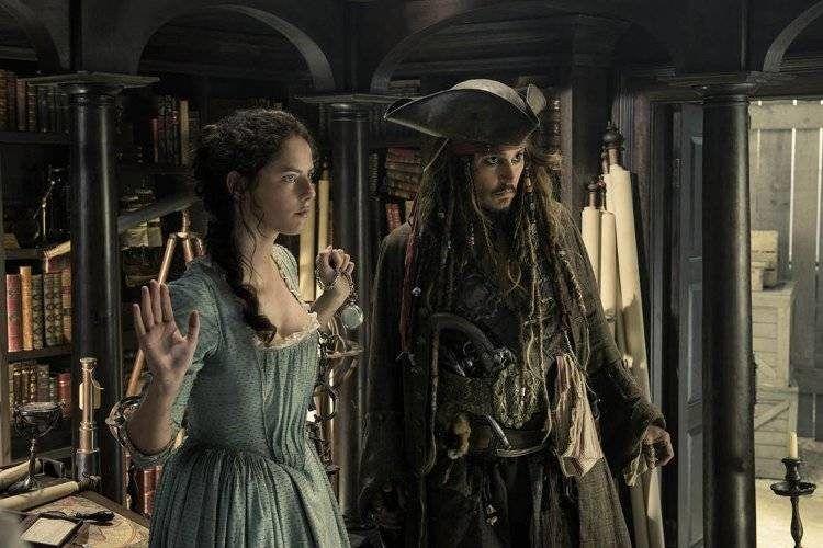 Johnny Depp y Kaya Scodelario tendrán que unir sus fuerzas en esta entrega