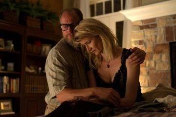 Laura Dern y Woody Harrelson en una escena de Wilson