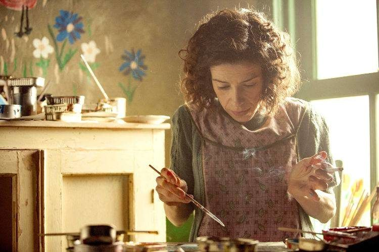 La película narra la vida de la pintora Maud Dowley