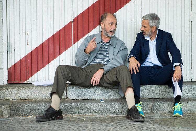 """Dario Grandinetti e Imanol Arias andarán toda la cinta como """"el perro y el gato"""""""