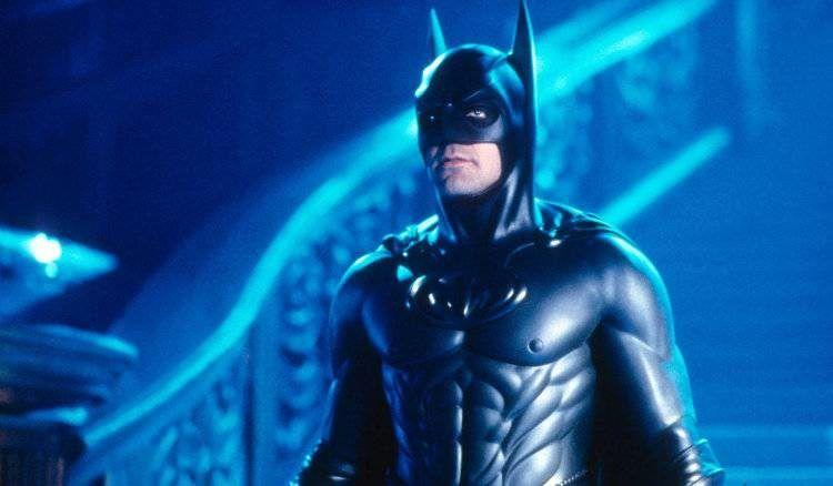 George Clooney en Batman & Robin (1997)