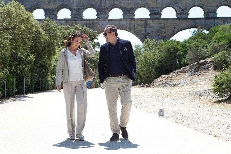 Arnaud Viard y Diane Lane en una escena de la película