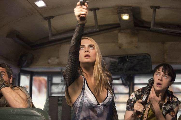 """Cara Delevingne y Dane DeHaan protagonizan """"Valerian y la ciudad de los mil planetas"""""""