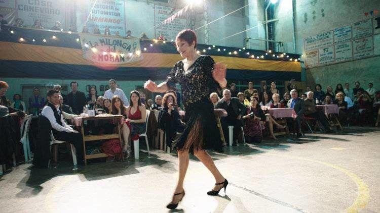 """Maria Nieves Rego una de las protagonistas de """"Un tango más"""""""
