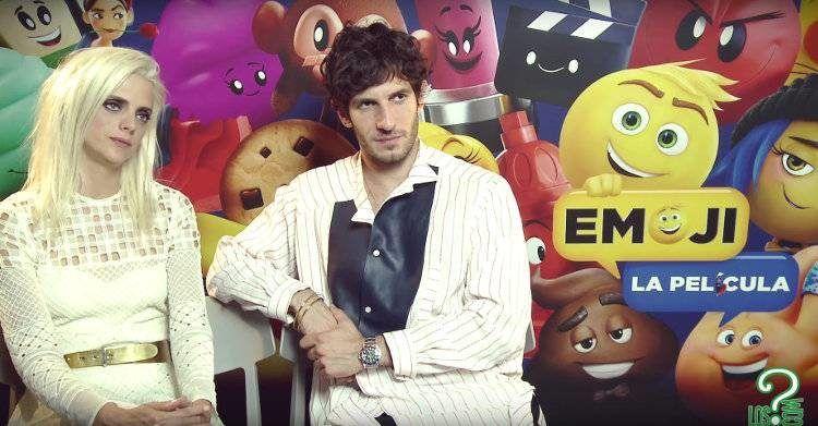 """Entrevistamos a Macarena Gómez y Quim Gutiérrez por """"Emoji la peli"""""""