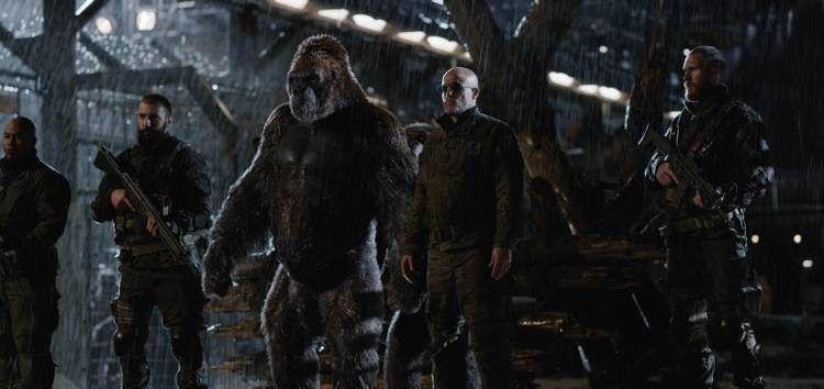 Woody Harrelson en 'La guerra del PLaneta de los Simios'