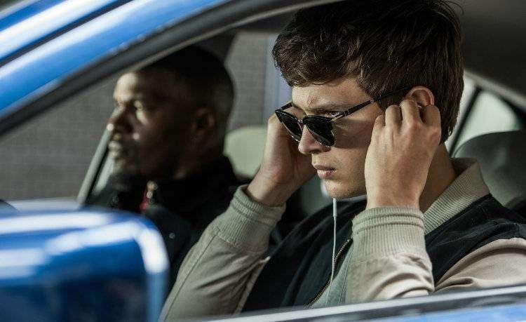 Ansel Elgort y Jamie Foxx en Baby Driver