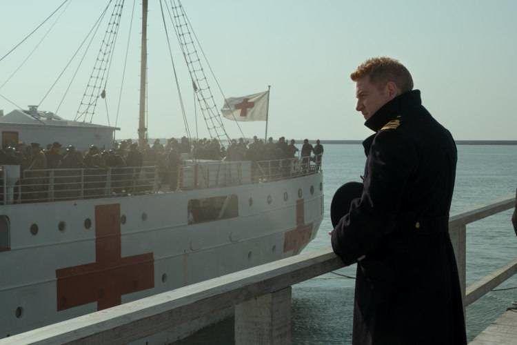 "Kenneth Branagh en la película ""Dunkerque"""