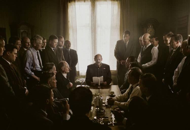 Jesper Christensen en la película 'La decisión del rey'