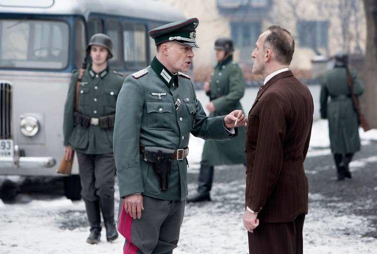 """Andreas Lust y Karl Markovics en """"La decisión del rey"""""""
