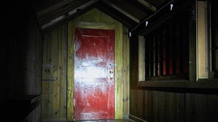 """La inquietante puerta por la que """"llega de noche"""""""