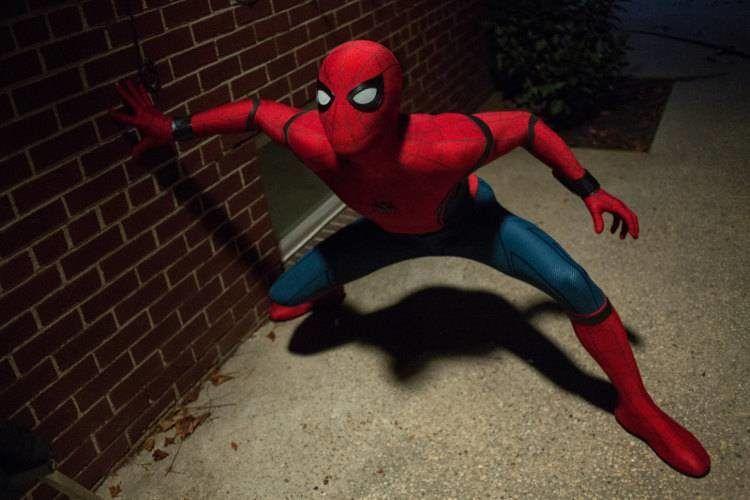 El nuevo Spider-Man en acción