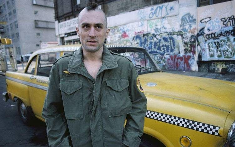 Taxi Driver con Robert DeNiro