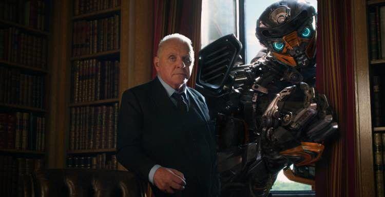 Anthony Hopkins en la quinta entrega de Transformers