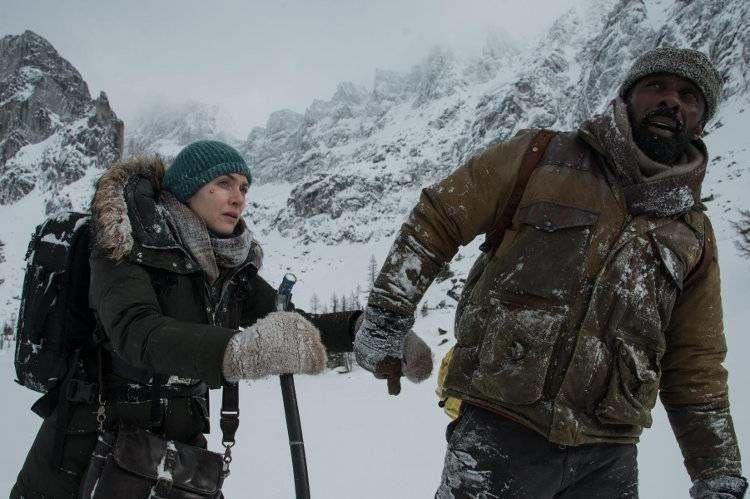 """Idris Elba y Kate Winslet en la helada """"La montaña entre nosotros"""""""