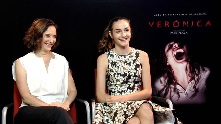"""Entrevista a Ana Torrent y Sandra Escacena por la película """"Verónica"""""""