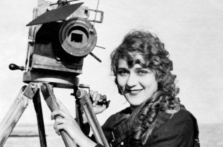 La directora de cine Alice Guy.