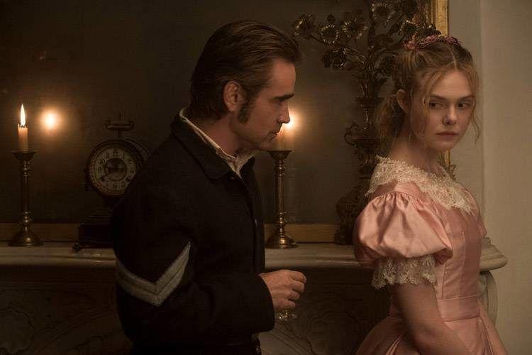 """Colin Farrell y Elle Fanning en """"La seducción"""""""