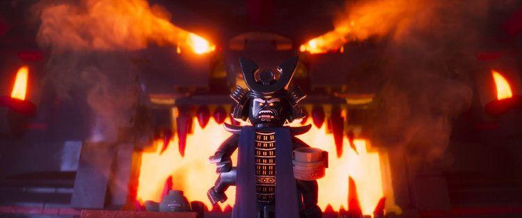 "Garmadon, el malo malísimo de ""La Lego Ninjago película"""