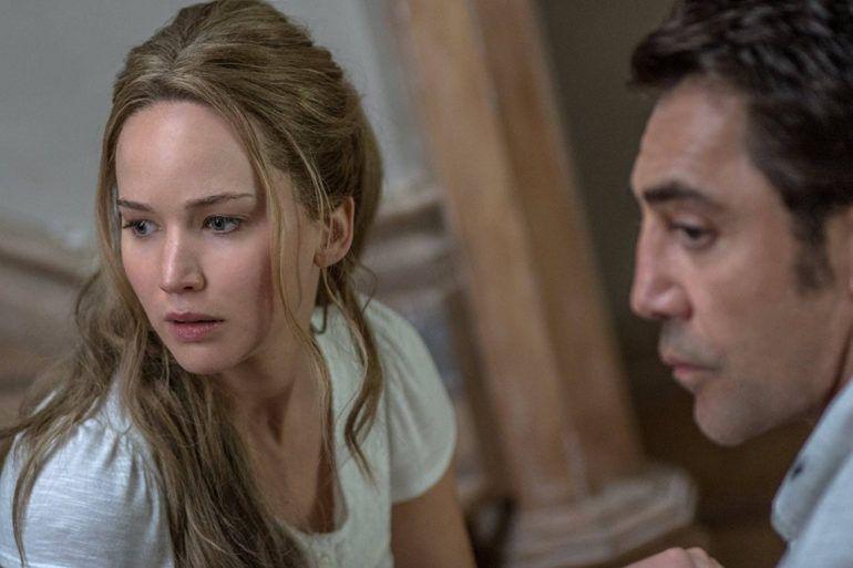 Jennifer Lawrence y Javier Bardem son los protagonistas de la película
