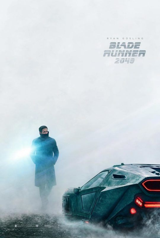 Poster de Ryan Gosling en la película de Blade Runner 2049
