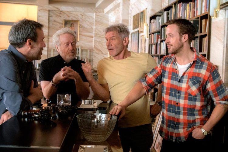Imagen de rodaje de Blade Runner 2049