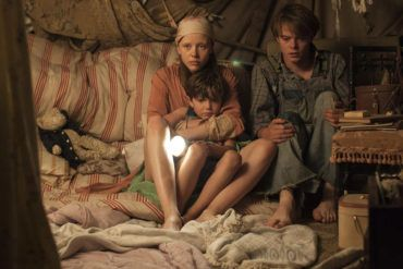 """Charlie Heaton, Mia Goth y Matthew Stagg en """"El secreto de Marrowbone"""""""