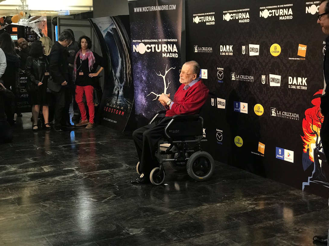 Chicho Ibáñez Serrador en el Festival Nocturna 2017